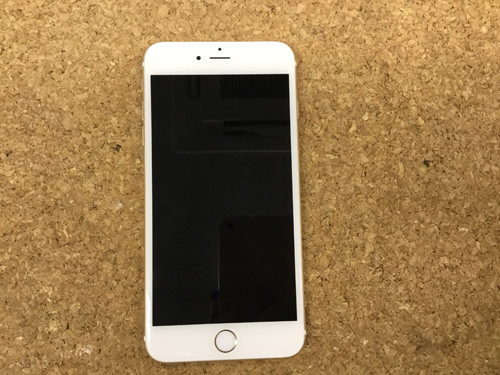 iPhone6sPlus 液晶交換.分解方法1
