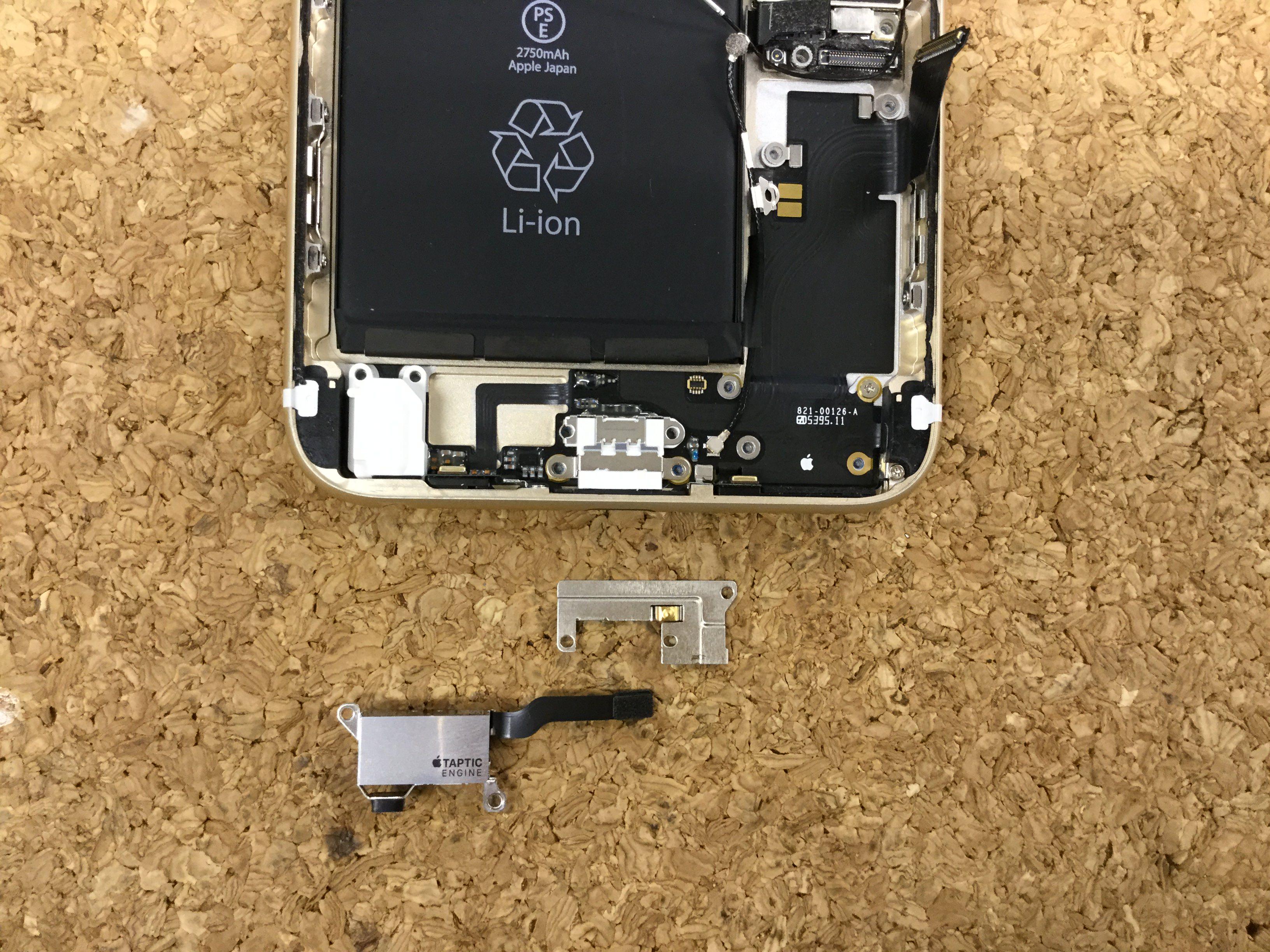 iPhone6sPlus ドックコネクター交換.分解方法3