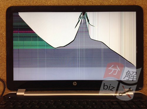 HP15-n210TU 分解方法1