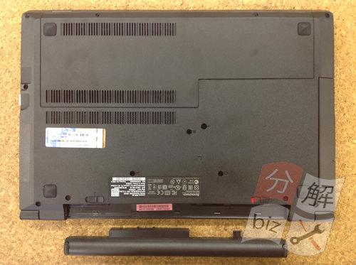 Lenovo B50 分解方法2