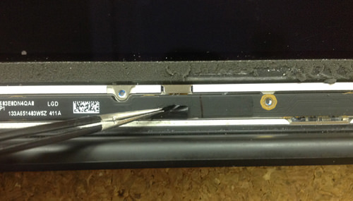 Macbook Air A1369(13インチ) 液晶パネル交換方法17