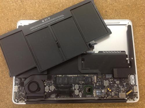 Macbook Air A1369(13インチ) バッテリー交換方法5