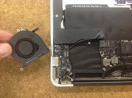 Macbook Air A1369(13インチ) ロジックボード交換方法13
