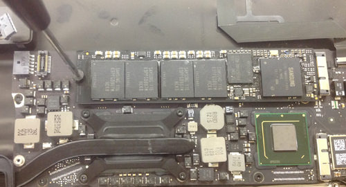 Macbook Air A1369(13インチ) ロジックボード交換方法15