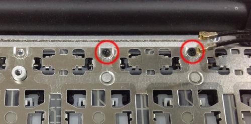 MacbookAir A1370 キーボード交換 方法4