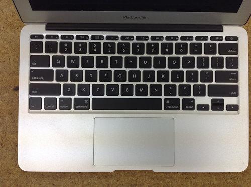 MacbookAir A1370 キーボード交換 方法7