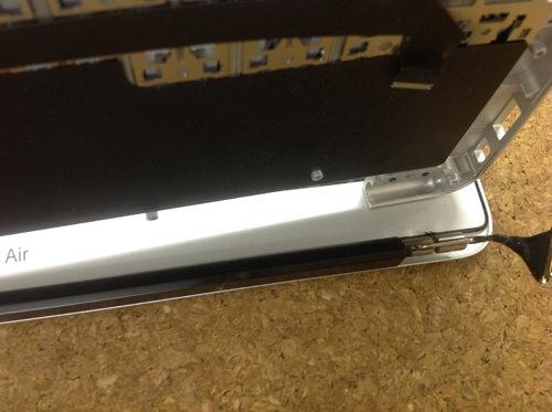 MacbookAir A1370 液晶交換 方法27