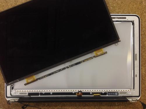 MacbookAir A1370 液晶交換 方法39