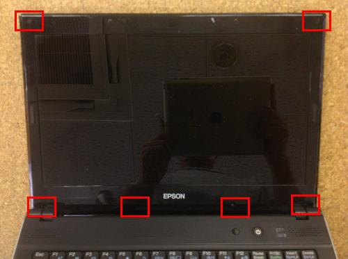 EPSON NY2200S 分解方法4