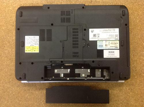 NEC PC-LL700VG6W 分解方法2