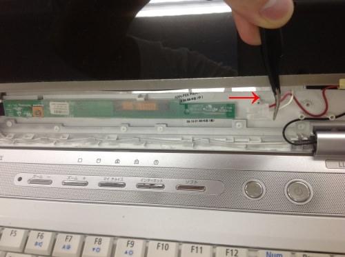 NEC PC-LL700VG6W 分解方法8