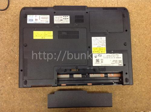 NEC LL750/SG6B 分解方法2