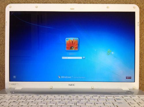 NEC PC-LS150FS6W 分解方法8