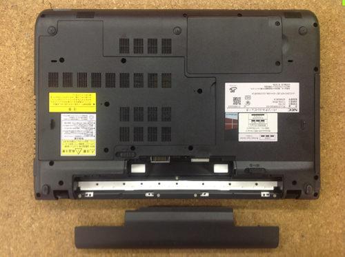 NEC PC-LS150RSW-KS 分解方法2