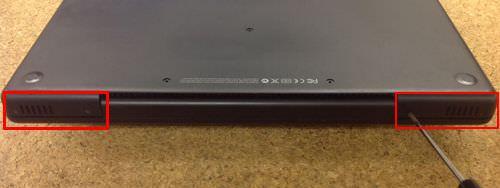 macbook A1181 キーボード交換方法4