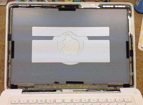 macbook A1342 液晶交換方法7