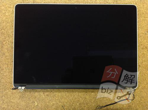 Macbook Pro Retina A1398 液晶交換方法12