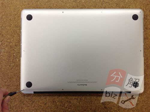 Macbook Pro Retina A1398 液晶交換方法3