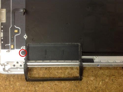 Macbook Pro Retina A1398 キーボード交換方法2