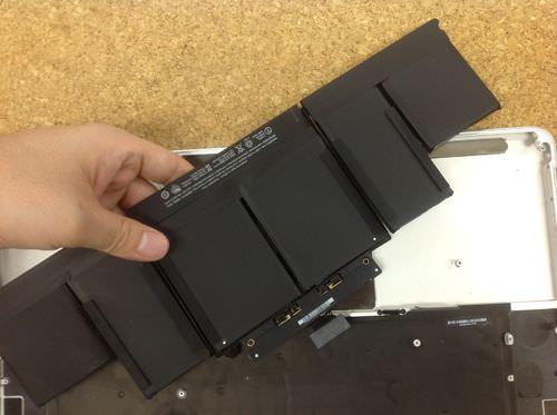 Macbook Pro Retina A1398 バッテリー交換方法4