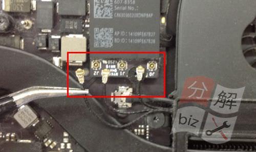 Macbook Pro Retina A1398 液晶交換方法9