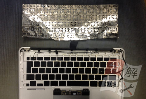 Macbook Air A1465(11インチ) キーボード交換方法17
