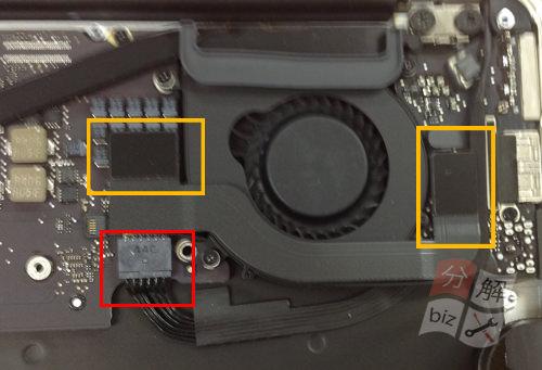 Macbook Air A1465(11インチ) キーボード交換方法7