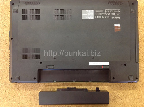 Lenovo G580 分解方法2