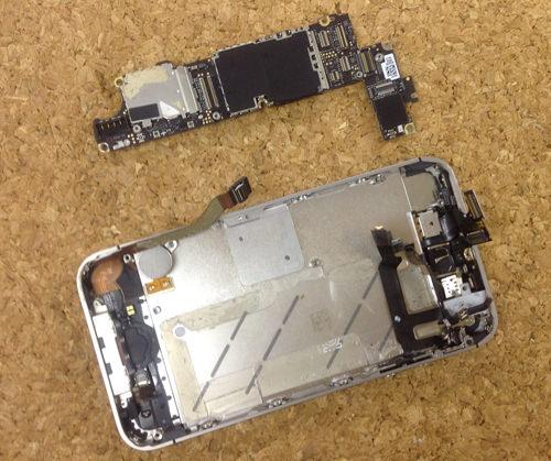 iPhone4s 液晶ガラス、パネル交換方法11