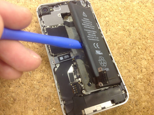 iPhone4s 液晶ガラス、パネル交換方法2