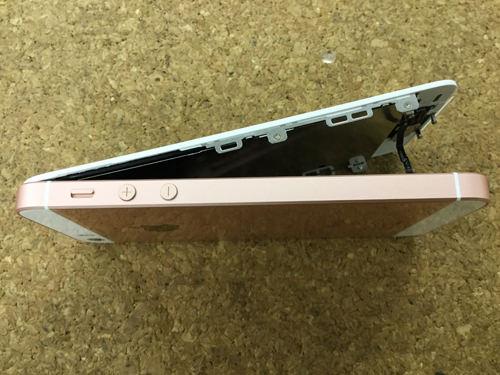 iPhoneSE 液晶交換.分解方法5