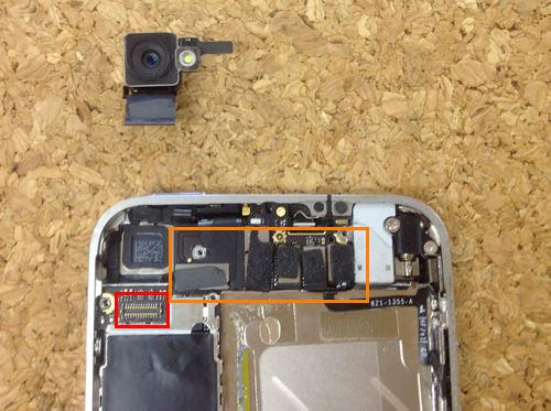 iphone4 液晶ガラス、パネル交換方法5