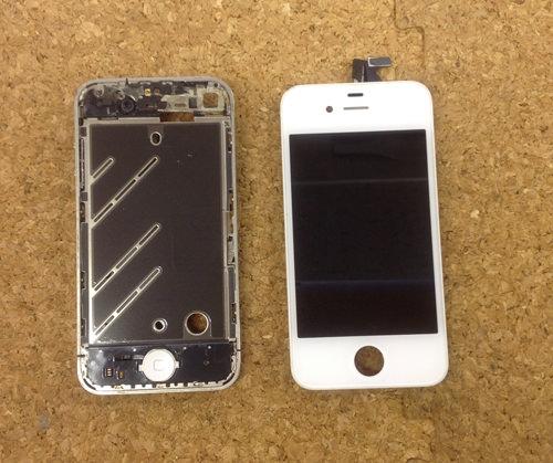 iphone4 液晶ガラス、パネル交換方法16