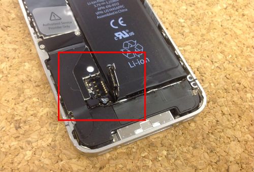 iphone4 バッテリー交換方法6
