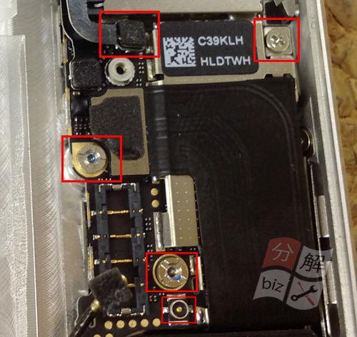 iphone5 スピーカー交換方16