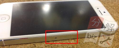 iphone5 ドックコネクター交換、イヤホン交換方法2
