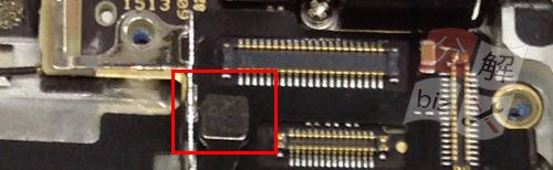 iphone5 ドックコネクター交換、イヤホン交換方法19