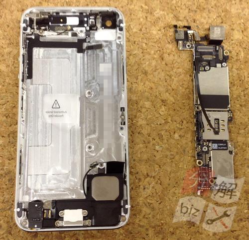 iphone5 ドックコネクター交換、イヤホン交換方法23