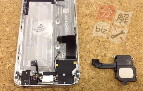 iphone5 スピーカー交換方法25