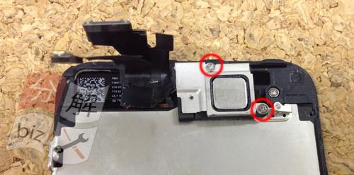 iphone5 液晶ガラス、パネル交換方法13