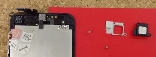 iphone5 液晶ガラス、パネル交換方法14