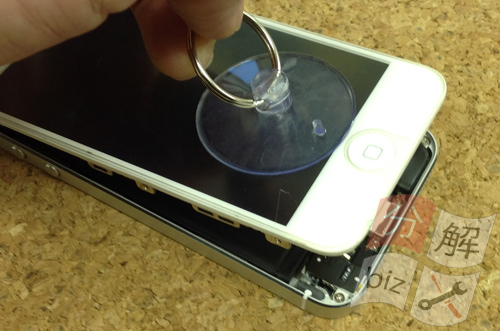 iphone5 ドックコネクター交換、イヤホン交換方法5