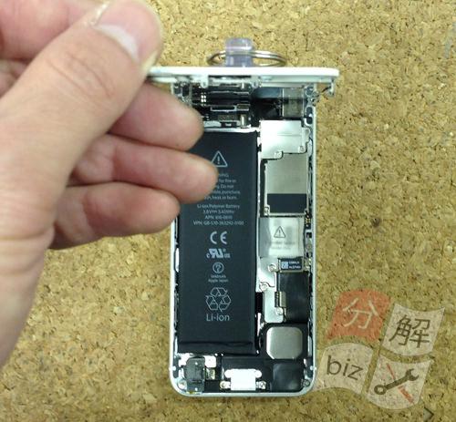 iphone5 ドックコネクター交換、イヤホン交換方法6