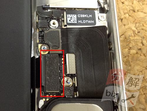 iphone5 スピーカー交換方法8