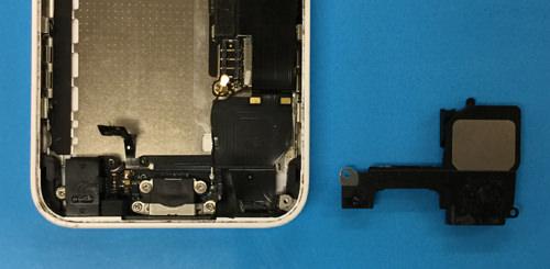 iphone5c ラウドスピーカー交換方法4