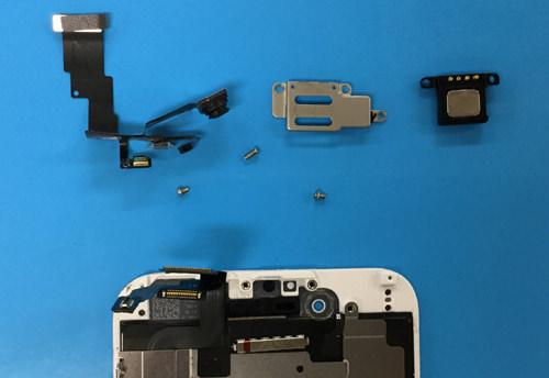 iphone6 カメラ分解方法5