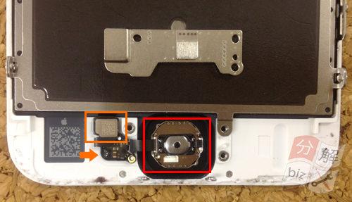 iphone6 液晶ガラス、パネル分解方法12