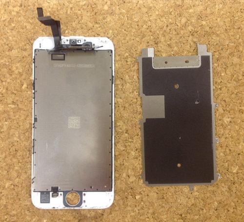 iphone6 液晶ガラス、パネル分解方法25