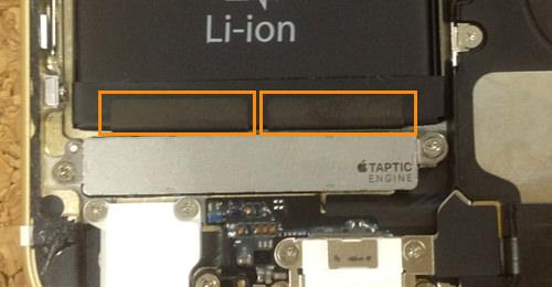 iphone6s バッテリー分解方法7