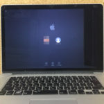 MacbookPro 液晶割れ